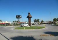 Das Denkmal vom Mutter Teresa