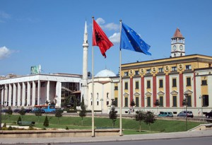 tirana-albanien